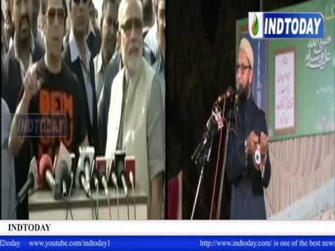 Salman Khan and Narendra Modi fly kites - Idhar dor hum katenge | AIMIM President Asaduddin Owaisi