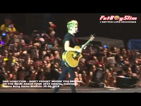 1D ONE DIRECTION – DON'T FORGET WHERE YOU BELONG live in Jakarta, Indonesia 2015