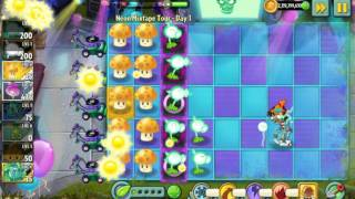 Electric Peashooter showcase - Plants vs. Zombies 2