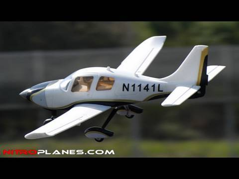 Airfield 2.4ghz Sky Trainer 400 Brushless RC Plane Review