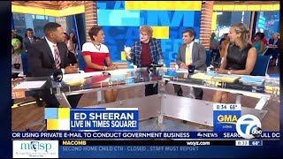 Ed Sheeran - Chats Career On (GMA)