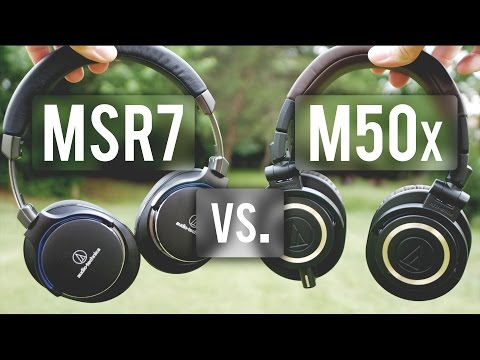 Audio Technica MSR7 Review: Way better than M50X?!