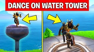 Dance on Top of a Water Tower – LOCATION WEEK 5 CHALLENGE Fortnite Season 7
