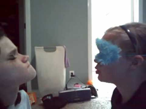 blindfolded makeovers!!!! Must see!!! part 2