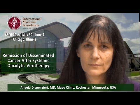 ASCO 2014: Remission of Disseminated Cancer After Using Modified Measles Vaccine