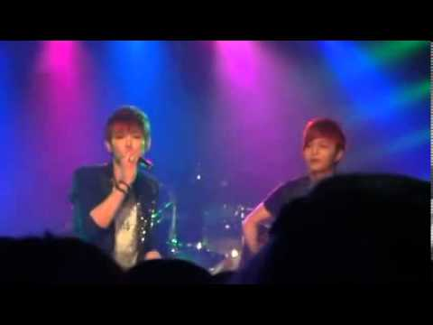 120511 HanByul LEDApple Solo Jason Mraz I won't give up