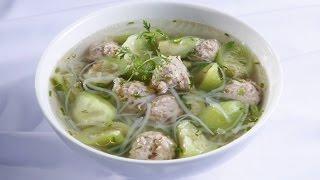 Món Ngon Mỗi Ngày - Canh Mướp Hương Thịt Viên