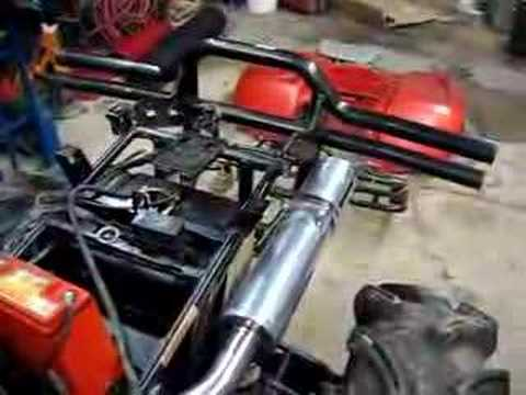 Arctic Cat 700 efi with motor work cranked for first time