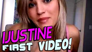 iJustine First Video EVER! | Youtubers First Videos | Youtubers First Time
