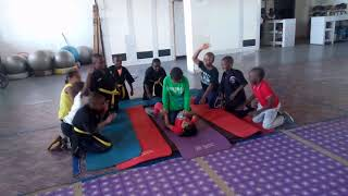 Kenpo kids fun time