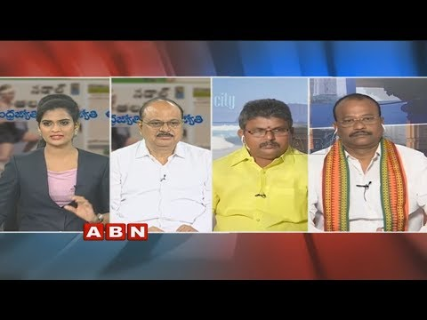 Debate on CM Ramesh Hunger Strike for Kadapa Steel Plant | Public Point | Part 2 | ABN Telugu