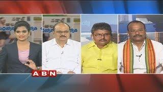Debate on CM Ramesh Hunger Strike for Kadapa Steel Plant | Public Point | Part 2