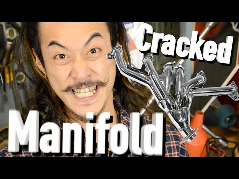 Cracked Exhaust Manifold - Header - Jeep Cherokee XJ -The Roadhouse