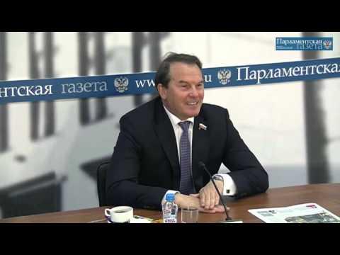 Встреча Игоря Морозова с парламентскими журналистами