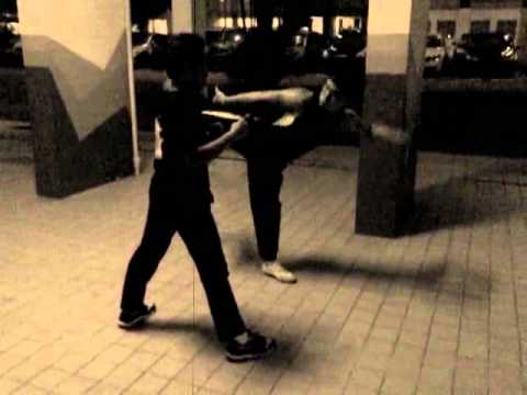 Singapore Kung Fu Training: Basic combination strikes Image 1