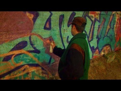Vor 20 Jahren: Graffiti-Sprayer in Berlin