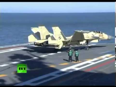 IMPRESSIVEFOOTAGE-of-CHINA-J-15-High-Tech-FIGHTER-JET-on-a-new-carrier-