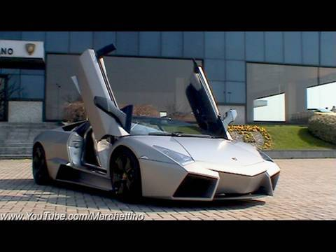 Lamborghini Reventn Roadster Start, Rev and Accelerate