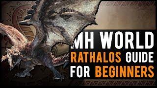Rathalos Guide : Monster Hunter World BEGINNER tutorial!