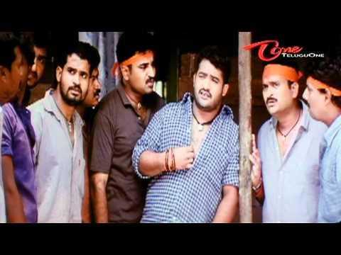 Jr Ntr Slaps Inspector Jeeva - Telugu Comedy Scene