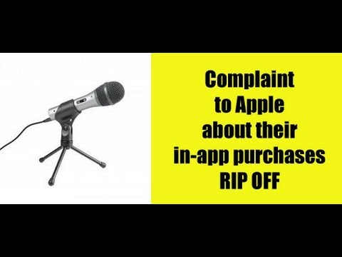 Complaint to Apple in-app purchases within APPS are RIP OFF GAMES misleading & deceptive!