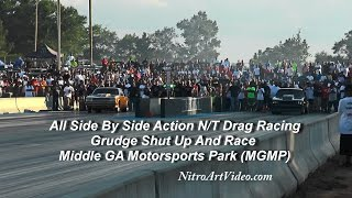N/T Drag Racing Grudge Shut Up And Race At MGMP Side By Side Action