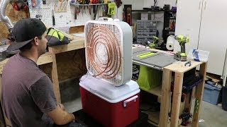 $100 Homemade Air Conditioner - DIY