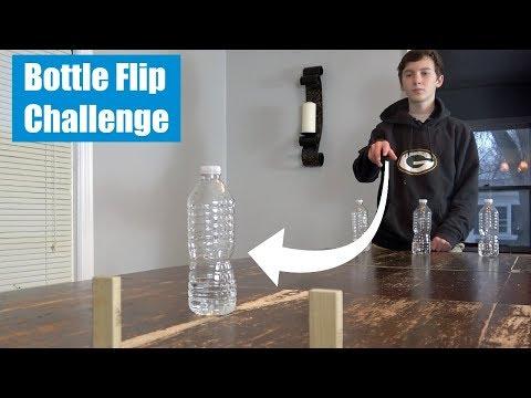Water Bottle Flip Challenge   That's Amazing