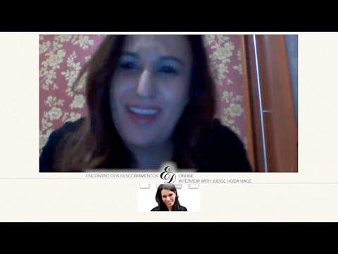 Interview with Judge Hoda Hage | Encontro dos Descobrimentos Online