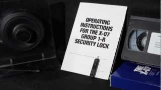 X-07 Lock Tutorial | Change the combination & open a GSA Approved Safe or Container