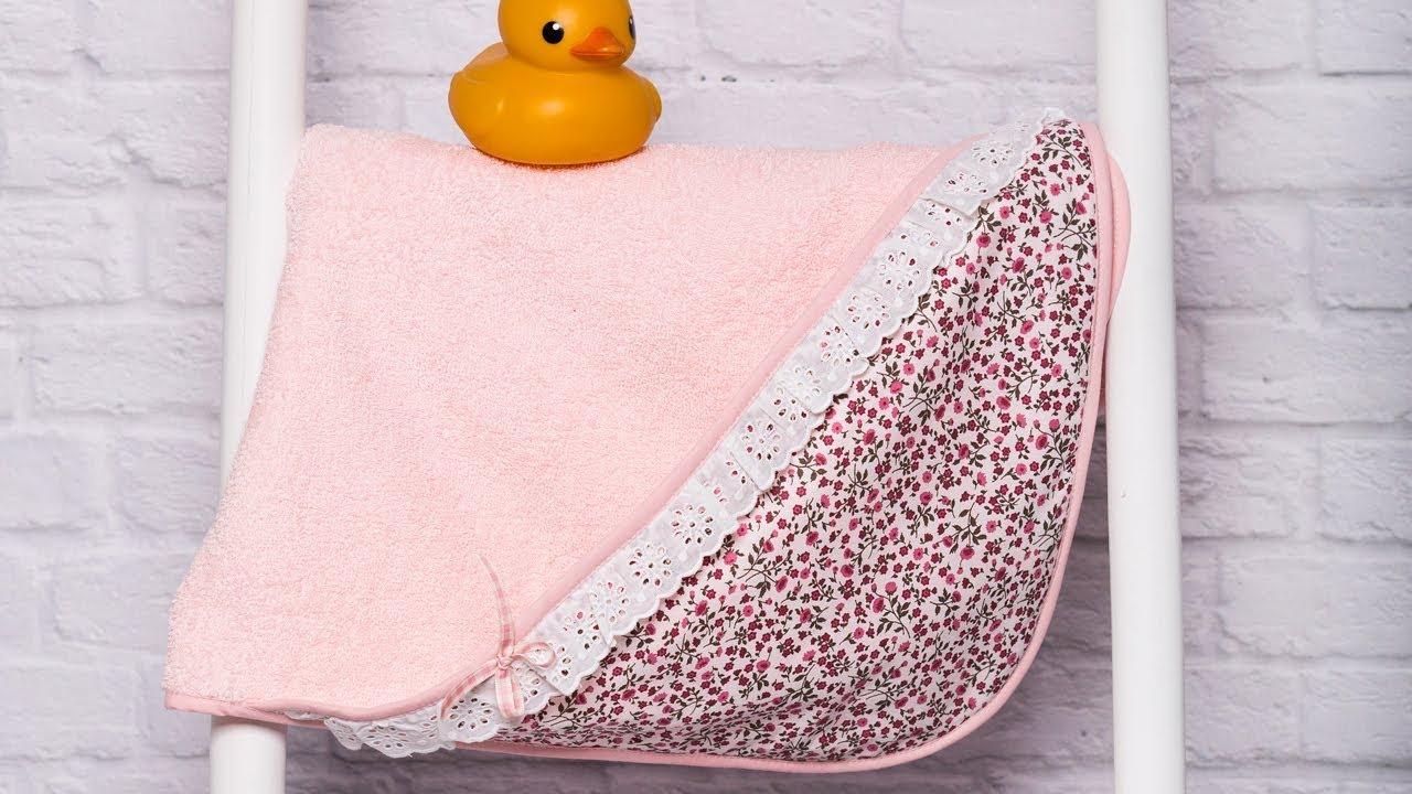 """Baño Handicap Medidas:Como hacer una toalla de bebé """"Patrón gratis"""" con patronesmujer"""