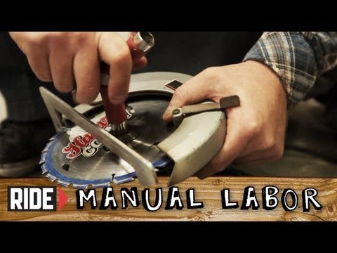How-To Build A Skatepark With Jona Owings: Essential Tools - Manual Labor