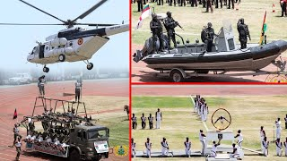 Wow! Ghana @62: FANTASTIC MILITARY DISPLAY🇬🇭
