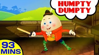 Humpty Dumpty Sat On A Wall & Popular Nursery Rhymes Collection for Children - Kids Songs Collection
