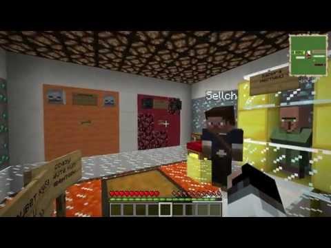Minecraft:Прохождение карты 5 Испытаний №1