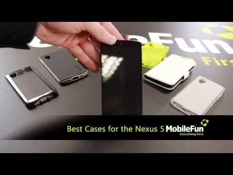 Best Cases Available for the Nexus 5