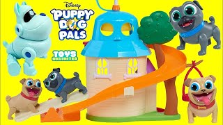 New PUPPY DOG PALS Doghouse Deluxe Friends Set with Bingo & Rolly Pups