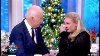 Meghan McCain Gets Emotional With Joe Biden - The View