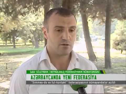 SIMMEY-DO KARATE FEDERATION AZERBAIJAN BRANCH.XAZAR TV
