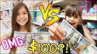 $100 SHOPPING CHALLENGE! SIS vs SIS