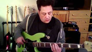 Alison - Elvis Costello Bass Cover Playalong