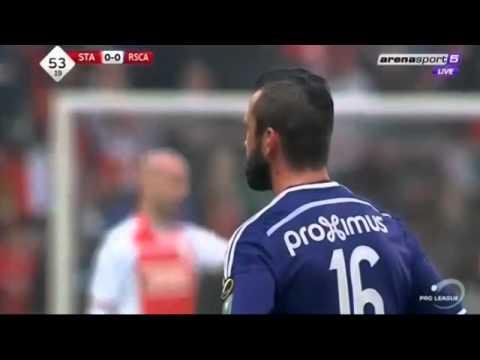 L'expulsion FDP de Steven Defour - Standard de Liège vs Anderlecht