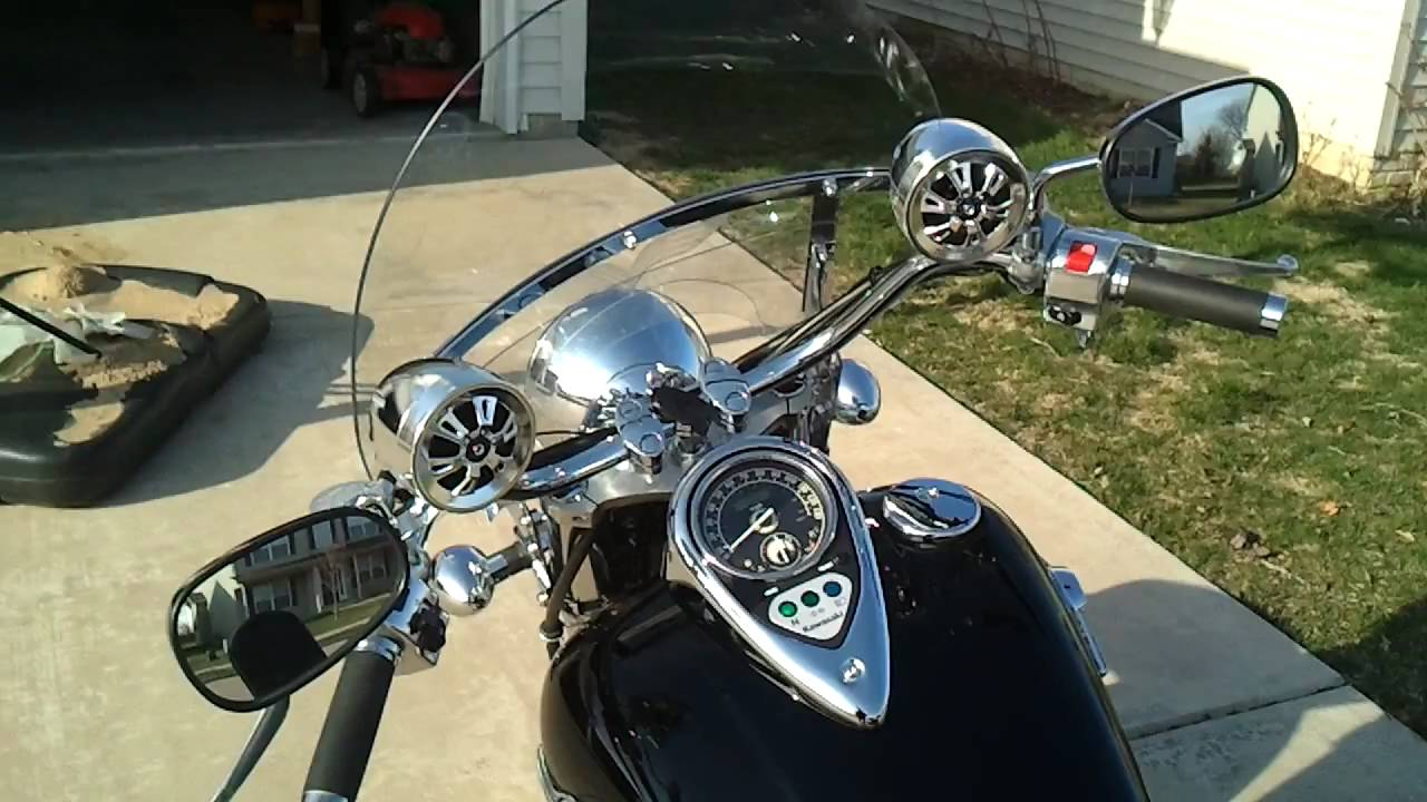 Pyle Motorcycle Mount Amplified 300W x Stereo Sound System