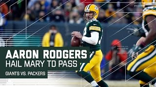 Aaron Rodgers Hail Mary Before Half! | Giants vs. Packers | NFL Wild Card Highlights
