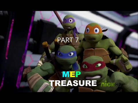 TMNT 2012 - MEP Treasure (part 4 is mine)
