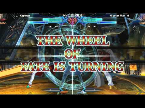Arc Divide - 01 24 15 - Blazblue: Chronophantasma Tournament video