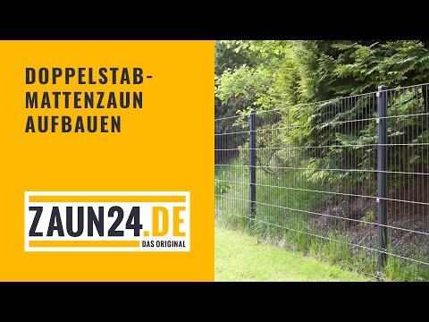 Montageanleitung Doppelstabmattenzaun - ZAUN24