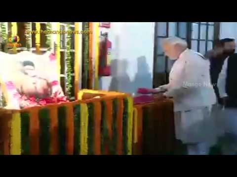 PM Narendra Modi pays tribute to Veer Savarkar