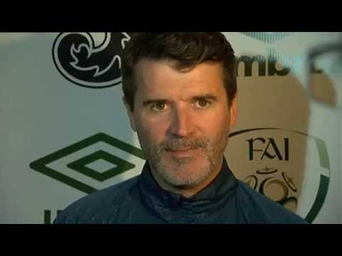 Republic of Ireland v Poland - Pre Match Interview - Roy Keane (25/3/15)