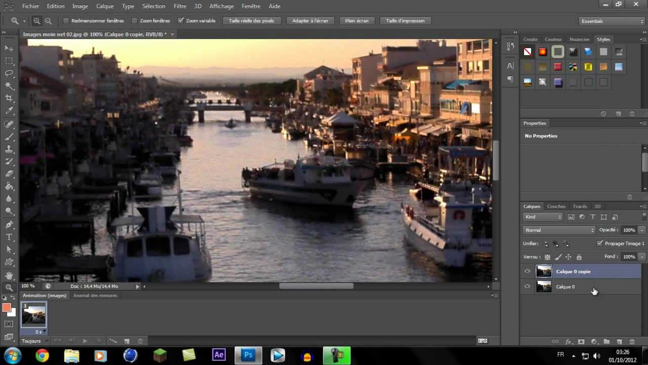 comment augmenter la qualité d'une photo sur photoshop